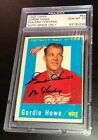 Gordie Howe Rookie Cards and Autographed Memorabilia Guide 48