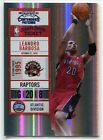 2010-11 Playoff Contenders Patches Championship TIckets 67 Leandro Barbosa 1 1