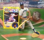 1991  GEORGE BELL - Starting Lineup- SLU - Loose with Card & Coin - CHICAGO CUBS