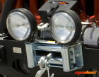 Rugged Ridge Roller Fairlead with Offroad Light Mounts 1123803