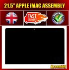 New LM215WF3 (SD)(D1) FHD LED Screen With Front Panel for iMac A1418 - late 2012