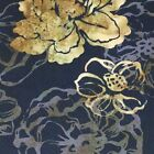 Batik Cotton Fabric Hoffman J2387-A4 Antique Black for Quilting/Sewing