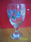 Pfaltzgraff VIENNA FLORAL 16 Oz Iced Tea Beverage Glass NEW w sticker! Butterfly