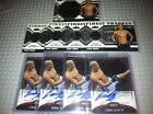 (9) 2011 TOPPS FINEST THREADS UFC ERIK KOCH AUTO + RELIC RC INVESTMENT CARD LOT