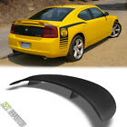 Matte Black 2006-2010 Dodge Charger Factory Style Rear Trunk ABS Spoiler 2-Post