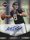 2011 (TEXANS) Limited Monikers Autographs Silver #40 Matt Schaub 50
