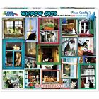 White Mountain Puzzles, Window Cats, 1000 Piece Jigsaw Puzzle, New