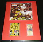 2005 Rose Bowl 16x20 Framed Photo  RP Ticket Display Texas Longhorns Michigan