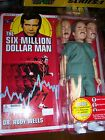 8 retro style dr Rudy Wells MOC Six Million Dollar Man 2012 Bif Bang Pow