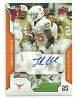 2008 UD DRAFT JAMAAL CHARLES RED ROOKIE RC AUTO AUTOGRAPH 6 125