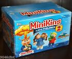2014 GARBAGE PAIL KIDS MINIKINS 2 CHEAP TOYS SEALED 24 PK HOBBY BOX RARE PEACH