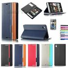 Magnetic Flip Hard Wallet Stand Case Cover PU Leather Pouch  for HTC Desire 816