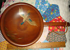 VTG ESTATE COUNTRY COTTAGE APT MUNISING PRIMITIVE PAINTED DUCK DOUGH SNACK BOWL