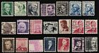 Scott 1278 95 Used Set of 21 1965 1981 Prominent American Series