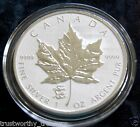 2012 1 oz Silver Canadian Maple Leaf DRAGON PRIVY Reverse Proof in airtite