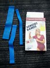 VINTAGE 1983 XERCISE BANDS BY SHAPE SHOP, COMPLETE KIT, EXERCISE BANDS, 3 BANDS