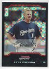Lyle Overbay 2005 Bowman Chrome Draft X-Fractor BDP-1