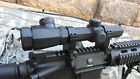 NCSTAR 223 556 AR M4 11 4X20 MIL DOT OCTAGON TAC SCOPE RED BLUE ILL ARMORED