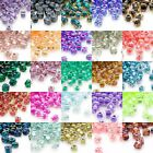 Huge Lot of 2700 Glass Miyuki 4mm Two Tone Color Lined 5 0 Triangle Seed Beads