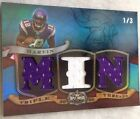 Percy Harvin 1 3 1 1 2009 Topps Triple Threads Rookie RC Worn Jersey Patch MIN