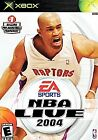 EA SPORTS NBA LIVE 2004 XBOX Great Condition w/MANUAL