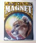 Mountain Lion Puma Panther 55 Round Car Truck Home Vinyl Magnet Gift Big Cat