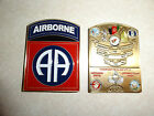 CHALLENGE COIN 82ND AIRBORNE RC-EAST CJTF-82 GENERAL & CSM ENDURING FREEDOM RARE