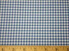 Patchwork Pals Fabric 2 yard 72x44 blue white check gingham red rooster quilt n