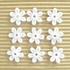US SELLER 100 pcs x 5 8 Padded Assorted Felt Flower Appliques for Bows ST360W