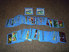 PANINI DISNEY PIXAR MONSTERS INC UNIVERSITY ALBUM STICKERS 2013 *720+ STICKERS*