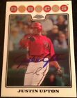 Justin Upton 6 10 2013 Topps Autograph Chrome Buybacks Auto Redeemed Braves RC
