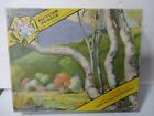 1958 Vintage Puzzle - Tuco Gift Series #5980 Triple Thick pieces of pretty Trees