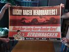 Rare Vintage Formula 1 Strombecker Race Poster From Slot Car Race Track