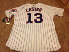 Starlin Castro Chicago Cubs Autographed Majestic Authentic Jersey PSA DNA