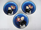 Certified International Lot of 3 Appetizer Plates Waiter by Tracy Flickinger