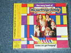 PARTRIDGE FAMILY DAVID CASSIDY Japan 2005 BRAND NEW SEALED CD THE VERY BEST OF