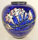 Rookwood Pottery 1931 Bulbous Colorful Floral Vase 6204C