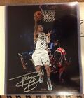 2014 PANINI VIP PARTY NSCC 8X10 PHOTO AUTHENTIC AUTO RARE TREY BURKE # 3 JAZZ