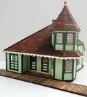 RANDOLPH DEPOT HO Model Railroad Structure Unpainted Wood Laser Kit RSL203