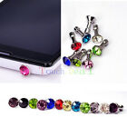 Diamond 35MM Anti Dust Plug Cap Stopper Cover FOR Apple iphone ipod itouch new