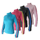 More Mile Ladies Running Top High Vis Dri Fit Womens Sports Long Sleeve T Shirt