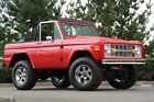 Ford  Bronco 1970 ford bronco killer crate 50 fuel injected v 8 nv 5 speed in viper red