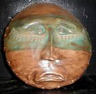 The Seer Clay  Mask Outsider Art 9 1/2