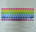 2X Rainbow Silicone Keyboard Cover Skin for MacBook Pro 13 15 17