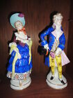 first quality antique large pair sitzendorf dresden porcelain figurine germany