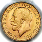 1926 SA KING GEORGE V SOUTH AFRICA GOLD SOVEREIGN COIN PCGS MS65