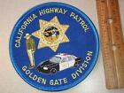 CALIFORNIA HIGHWAY PATROL GOLDEN GATE DIVISION CHIPS PATCH CALIFORNIA STATE POLI