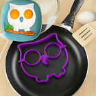 1X Funny Side Up Owl Egg Shaper Make Owl Shaped Fried Eggs Fun Cute Mold Ring
