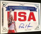 Paul Hamm 7 10 2012 Leaf Remembering The Games Auto Autograph USA Olympic Champ