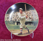 Rogers Hornsby Baseball Legends HOF LTD EDIT Collector Plate St Louis Chicago